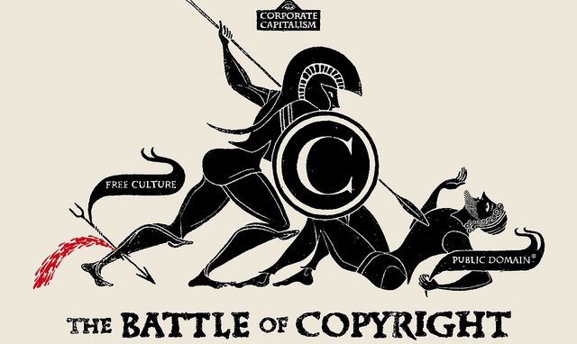 The Battle of Copyright. Used under Creative Commons license.
